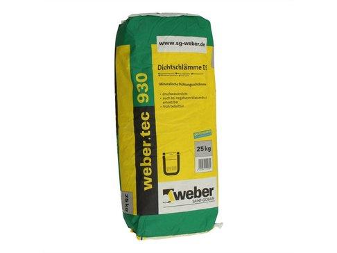 Weber. Tec 930 dichtingsmortel op cementbasis