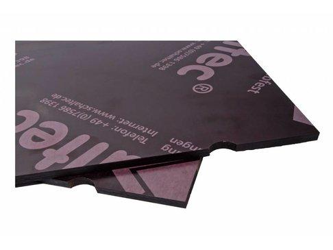 Bekistingshoutplaat 20x75 cm