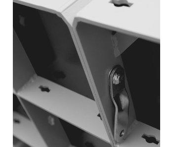 Bekistingselement Raster 100 x 75 cm gepoedercoat