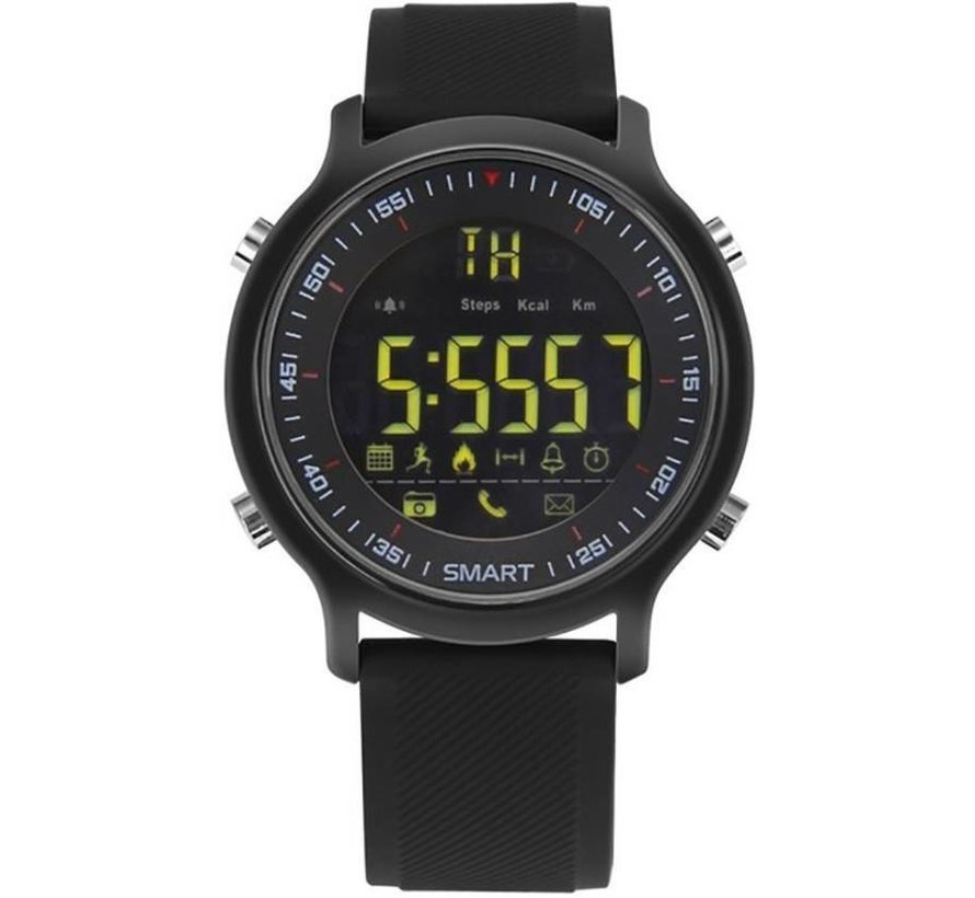 Xwatch sport - Smartwatch zwart