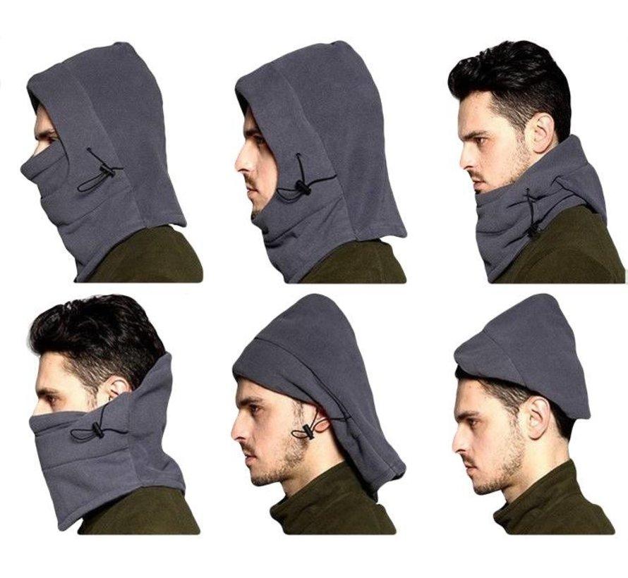 6-in-1-Fleece-Mütze