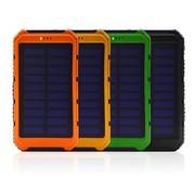 Solarbetriebene Powerbank - 10000mAh