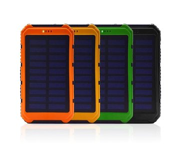 Solar powered powerbank - 10000mAh