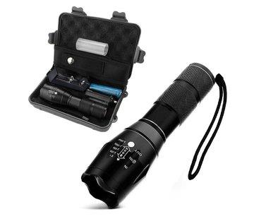 Militärische Taschenlampe mit Zubehörbox
