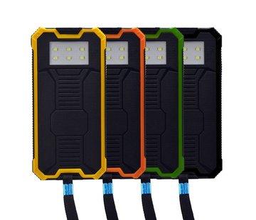 Solar powered power bank - 20000mAh