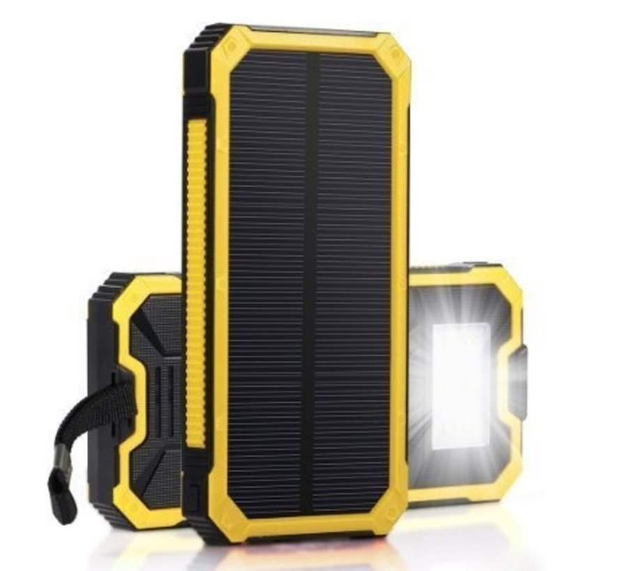 Solarbetriebene Energiebank - 20000mAh