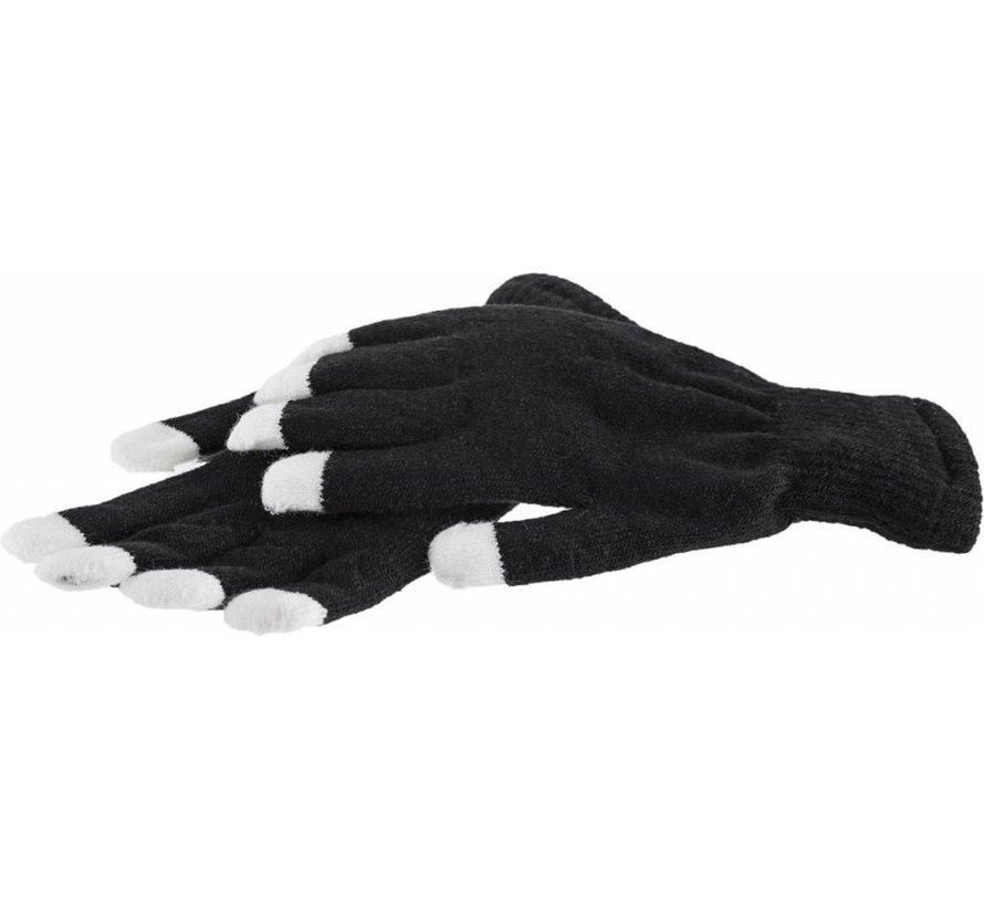Handschoenen met lichtgevende vingertoppen