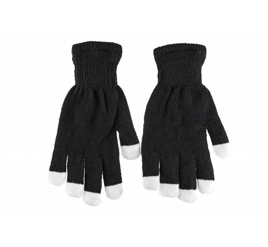 Handschuhe mit leuchtenden Fingerspitzen