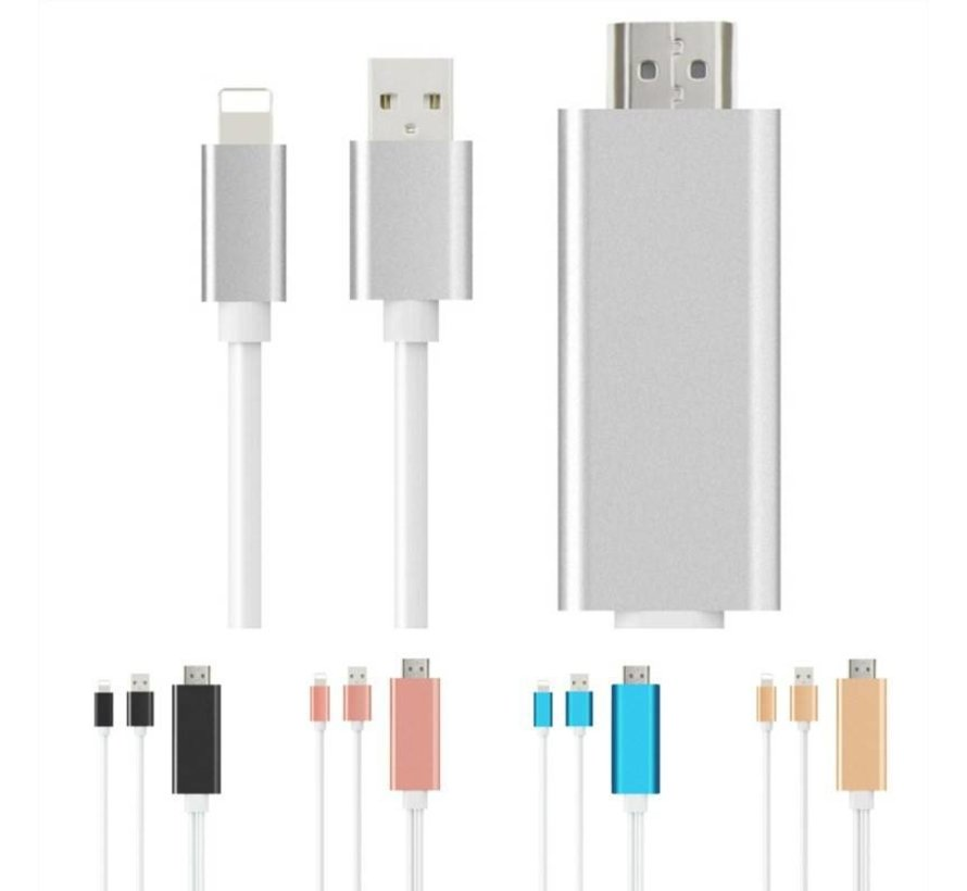 Câble HDMI avec connexion éclair