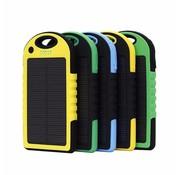 Solarbetriebene Energiebank - 5000mAh