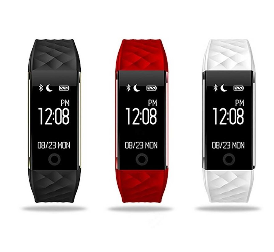 Activity tracker with heart rate monitor