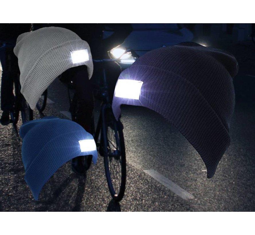 Muts met LED verlichting