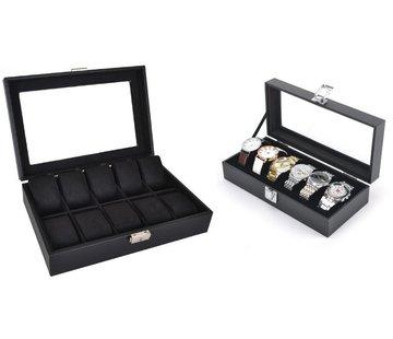 Watchbox - Boîte à bijoux noire
