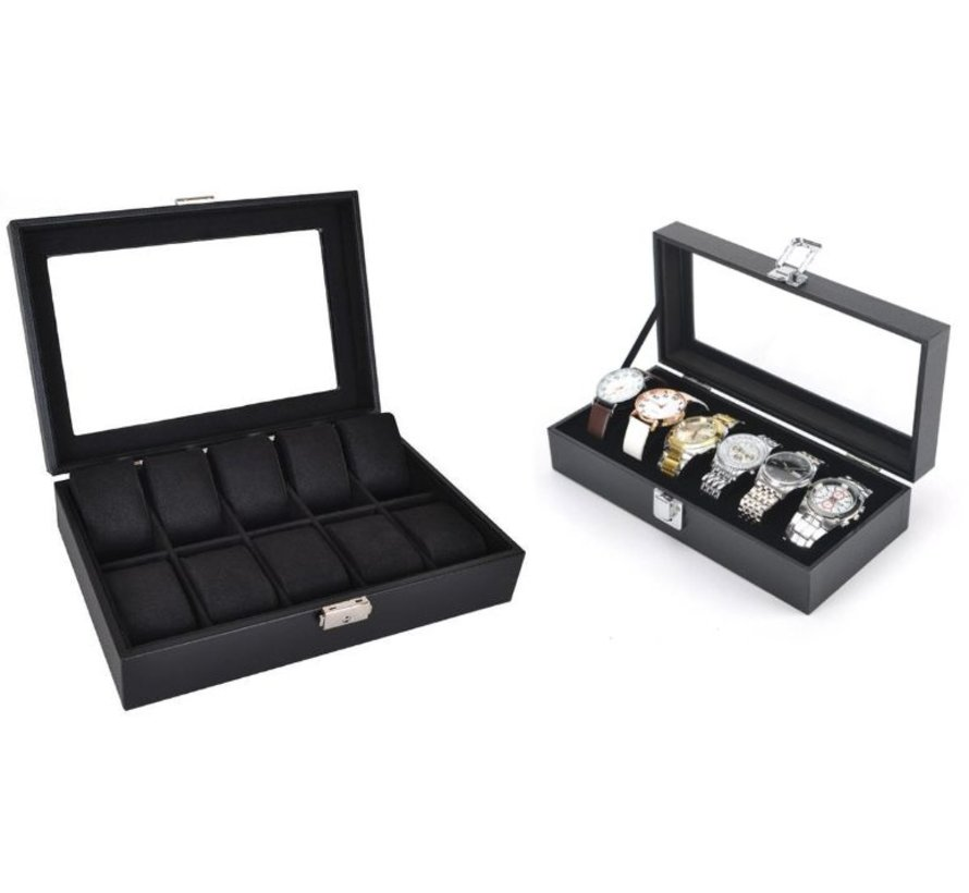 Watchbox - Jewelery box black