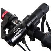Taschenlampenhalter für das Fahrrad