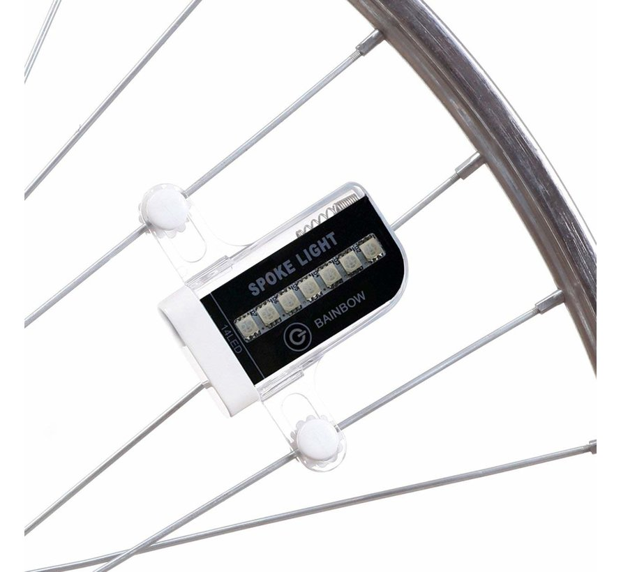 LED bicycle wheel lighting