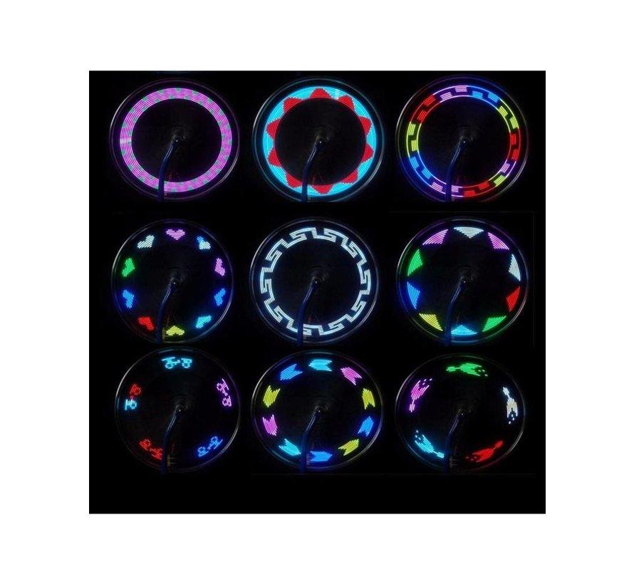 Éclairage de roue de vélo LED