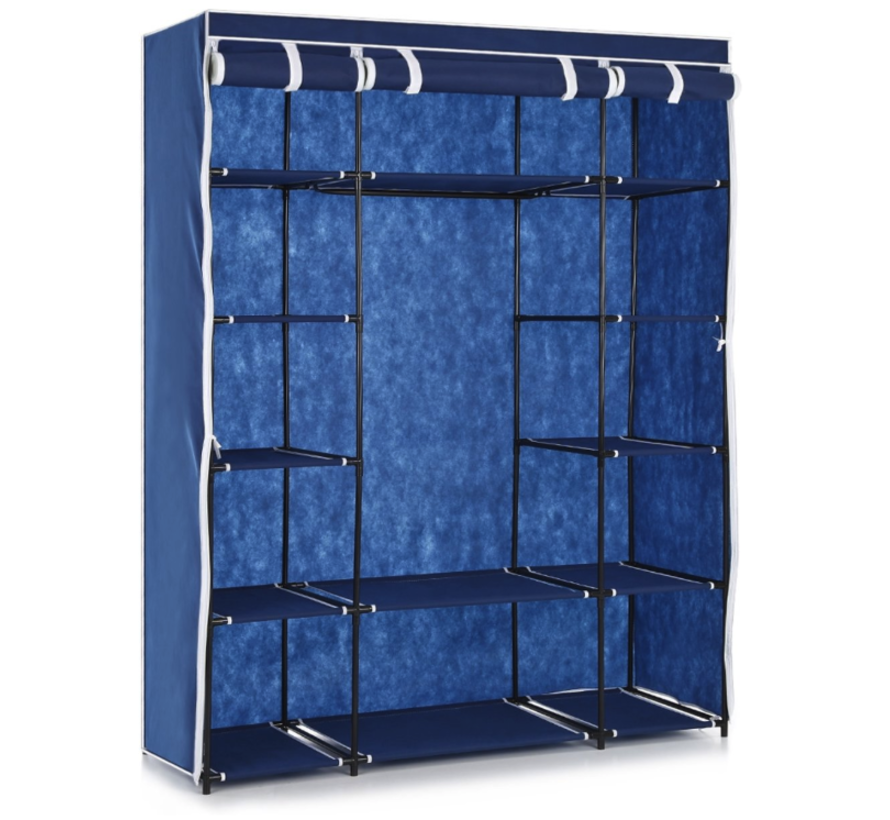 Foldable wardrobe