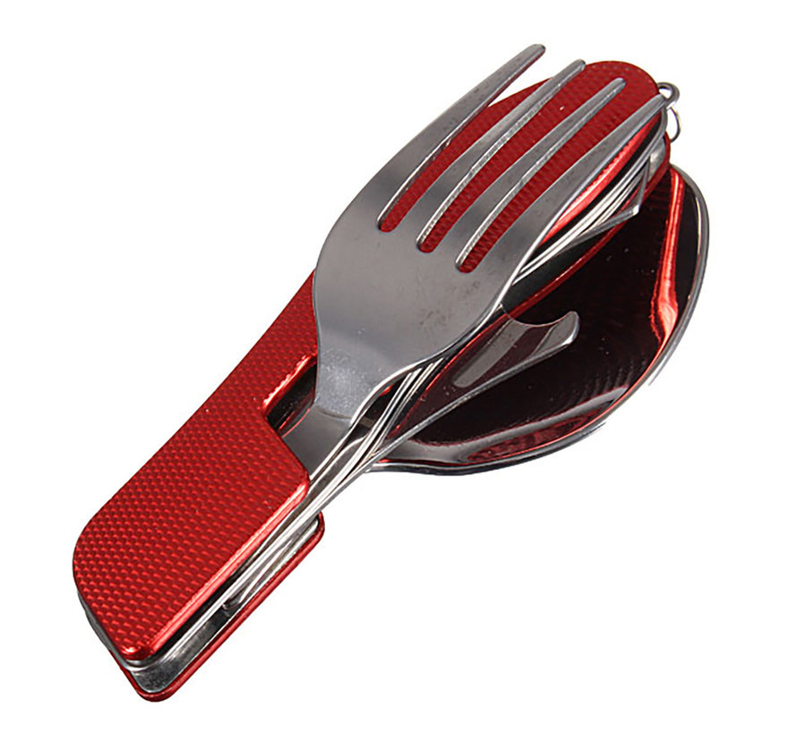 3 in 1 Camping cutlery