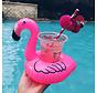 Aufblasbarer Getränkehalter - Flamingo