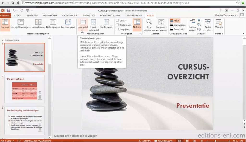 Klik & Weet Microsoft Office PowerPoint Video's