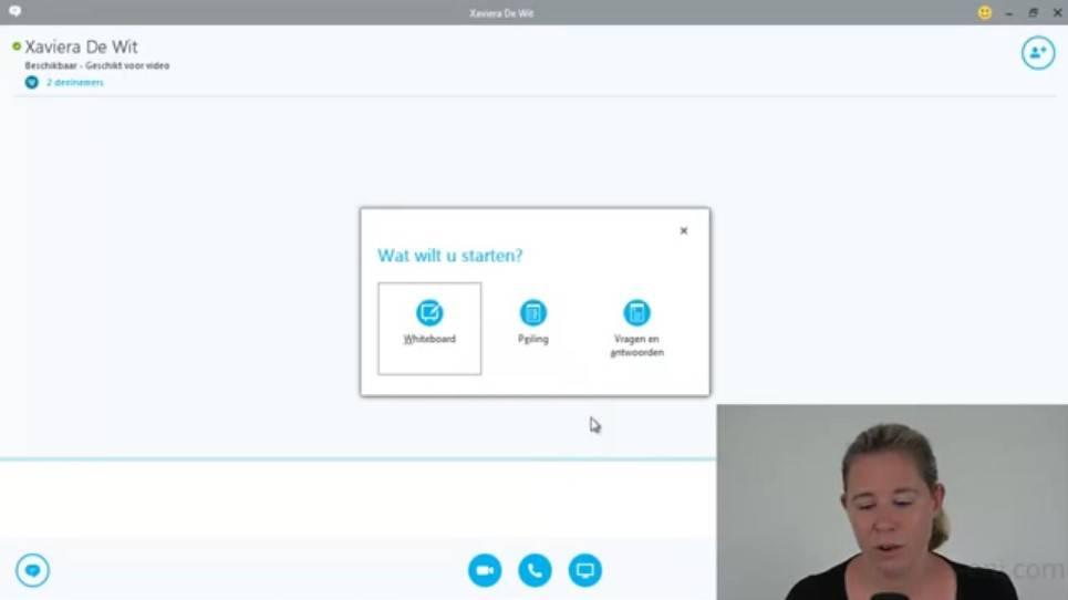 Klik & Weet Microsoft Office Skype Video's