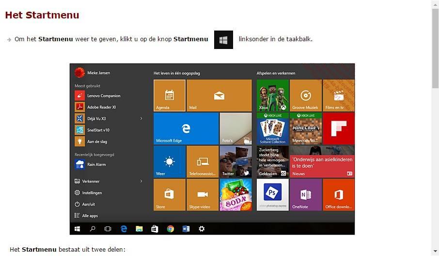 Microsoft  Microsoft Windows E-Book Cursus