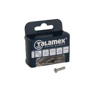 Talamex RVS Bout (Platkop Verz.)