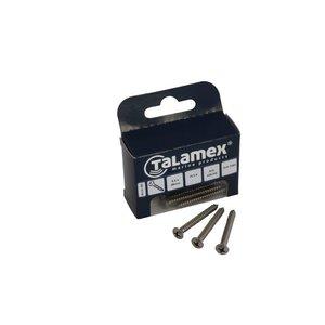 Talamex RVS Plaatschroef Lens-Philipskruiskop