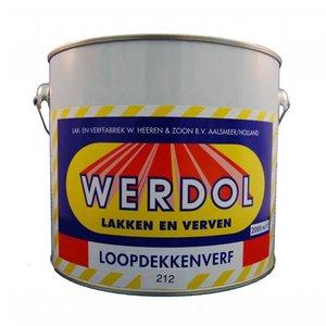 Loopdekkenverf - 2 liter