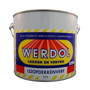 Werdol Loopdekkenverf - 2 liter