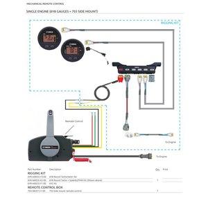 Yamaha Mechanical Remote Control
