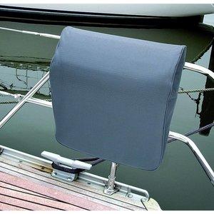 Blue Performance Railing Cushion