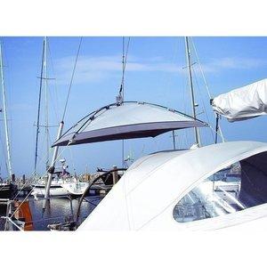 Blue Performance Sunshade Free Hanging