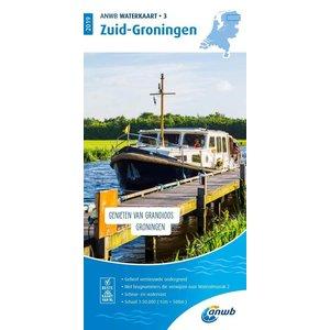ANWB Waterkaart 3 Zuid-Groningen 2021
