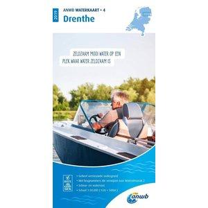 ANWB Waterkaart 4 Drenthe 2020
