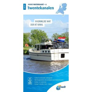 ANWB Waterkaart 6 Twentekanalen 2020