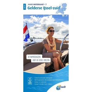 ANWB Waterkaart 7 Gelderse IJssel-Zuid 2020