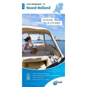 ANWB Waterkaart 10 Noord-Holland 2020