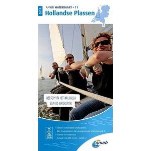 ANWB Waterkaart 11 Hollandse Plassen 2020