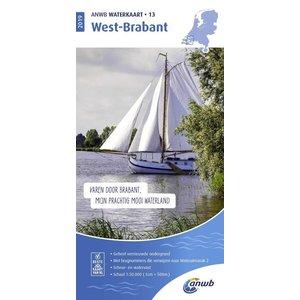 ANWB Waterkaart 13 West-Brabant 2019