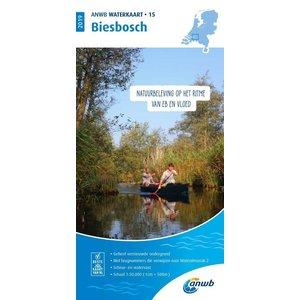 ANWB Waterkaart 15 Biesbosch 2020