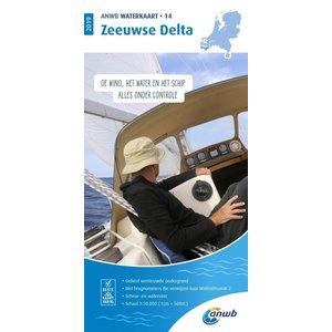ANWB Waterkaart 14 Zeeuwse Delta 2019