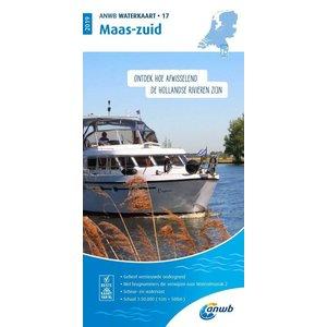 ANWB ANWB Waterkaart 17 Maas-zuid 2021