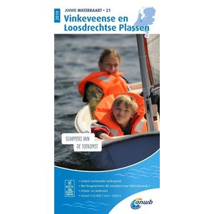 ANWB Waterkaart 21 Vinkeveense en Loosdrechtse Plassen