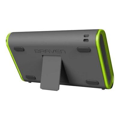 Braven 405 Waterproof Bluetooth Speaker - Zilver/Groen