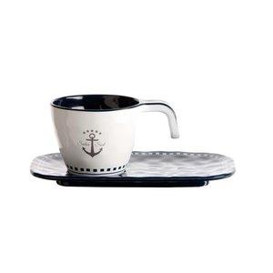 Sailor Soul Espressokop & schotel - H 5 cm