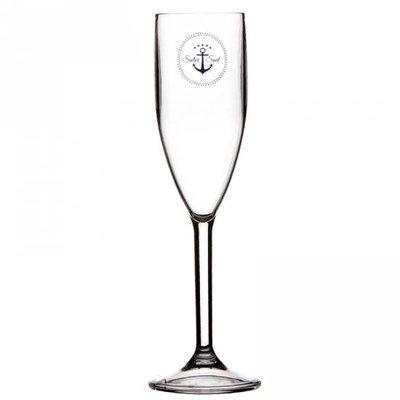 Sailor Soul champagneglas - hoogte 22 cm