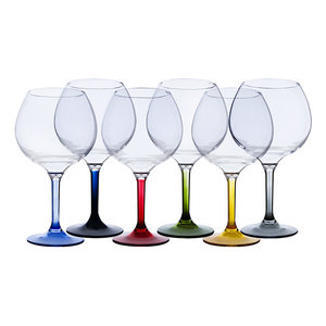 Party Gin Tonicglazen set - Meerkleurig - Onbreekbaar