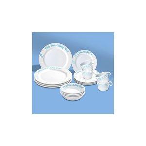 Trend Marine Melamine Serviesgoed-Set Voor 4 Personen